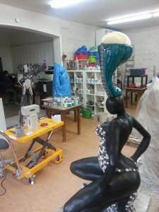Atelier, Karin van de Walle, Ostrich Woman