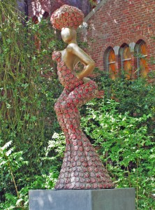 bigrose, bronze, ceramics