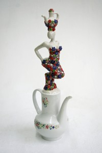 Teapot Lady Flower 2014