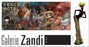 Exhibition Berlin Galerie Zandi front invitation